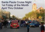 Santa Paula Cruise Night July 5, 20130