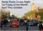 Santa Paula Cruise Night May 3, 20130