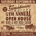 Speakeasy Motors' 5th Annual Open House Bike & Hot Rod Show0