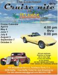 The Coachmen Cruise Night at the Islands July 6, 20130