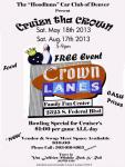 The Hoodlums Car Club Cruizn the Crown Car Show0