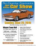 Tri-County Cruisers 26th Annual Car Show0