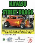 "Upcoming ""Havasu Street Drags0"
