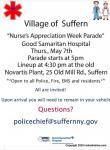 "Village of Suffern ""Nurse Appreciation Week Parade""0"